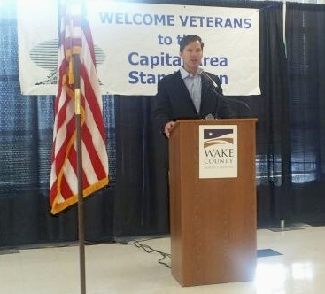 Rep. Martin at Veterans Stand Down
