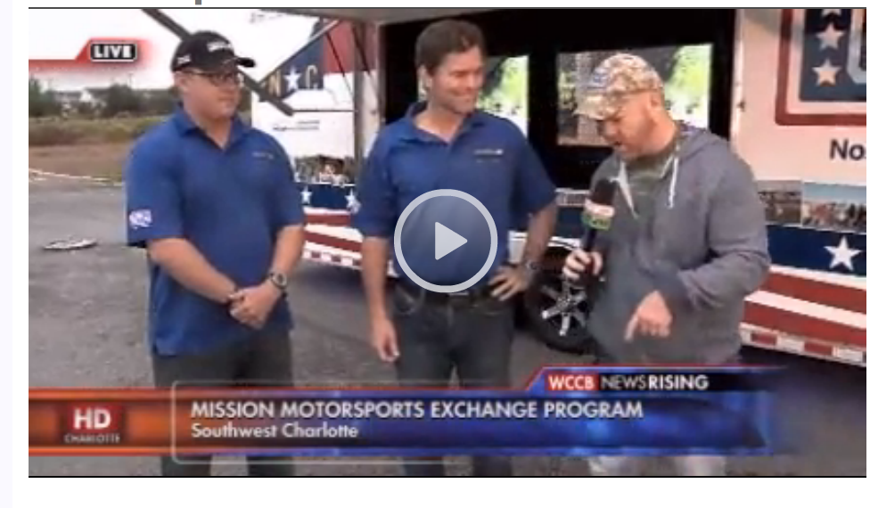 Mission Motorsport Exchange Program and USO of N.C. Help Veterans Worldwide